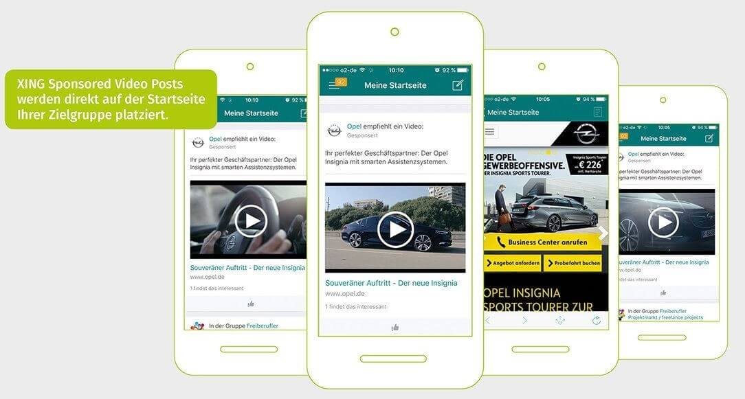 XING-Werbung: Erfolgreich im Business-Netzwerk - 1&1