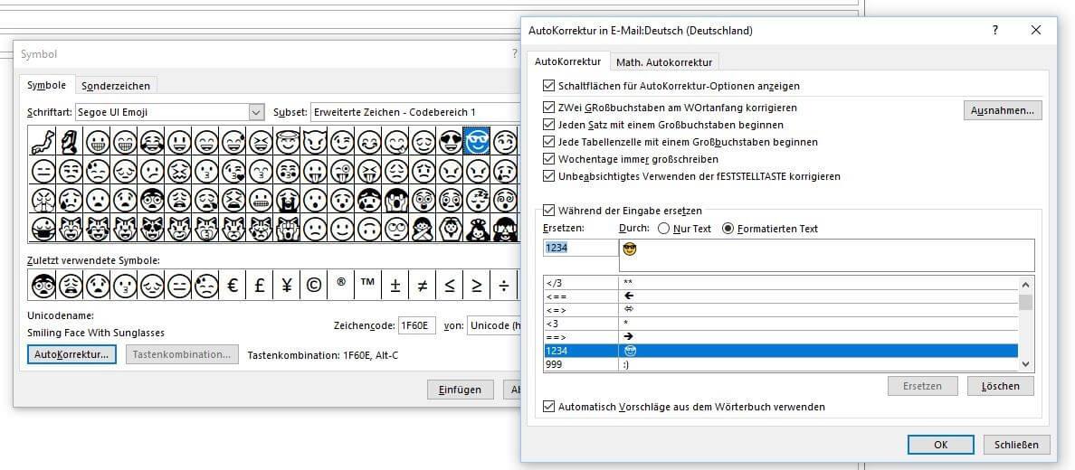 Outlook Smileys: So fügen Sie Emojis in Outlook ein ☺ - IONOS