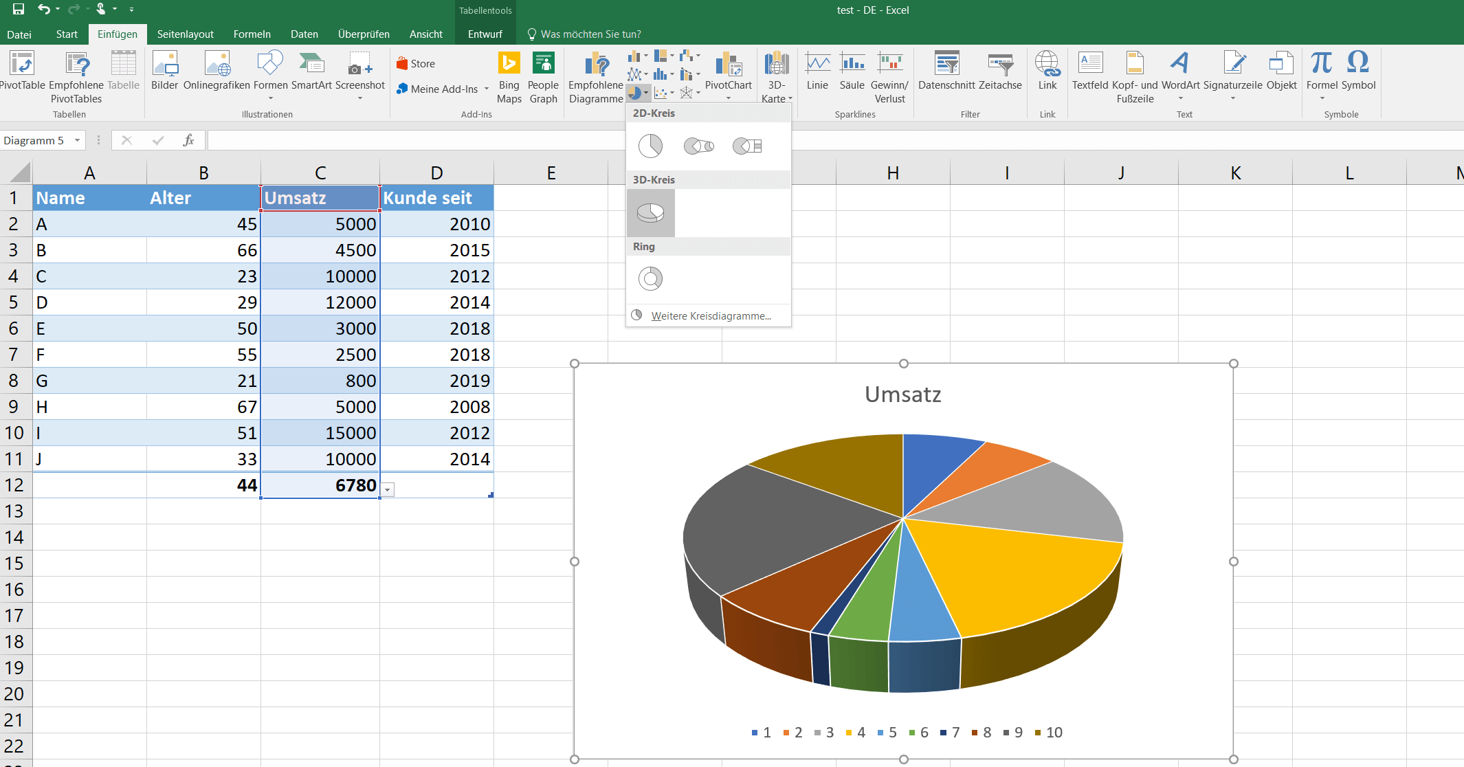 Excel Tabelle Suchen