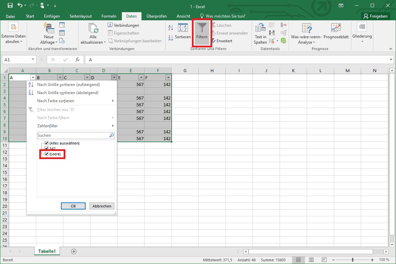 Excel leere Zeilen löschen so geht´s schnell & unkompliziert   IONOS