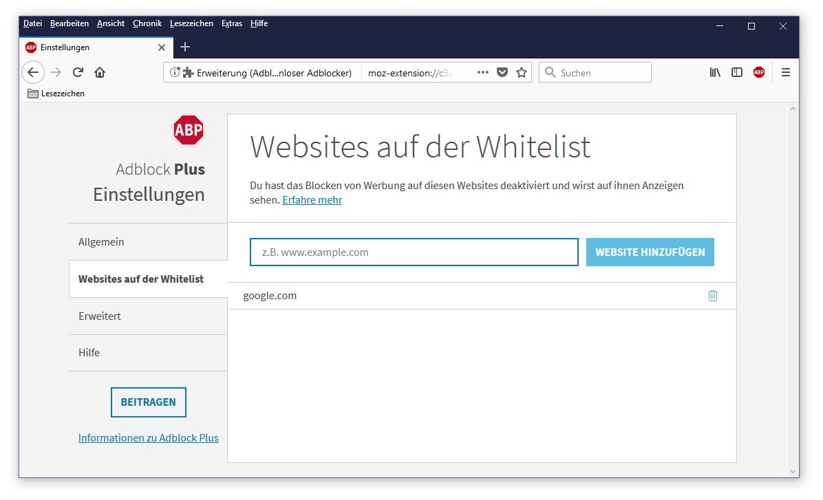 Adblocker deaktivieren   So schalten Sie Ihren Adblocker