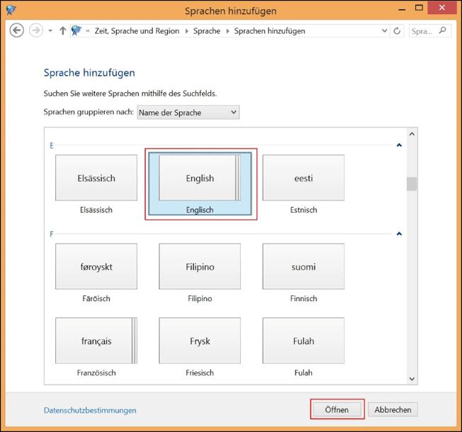Sprache Bei Windows 8 ändern