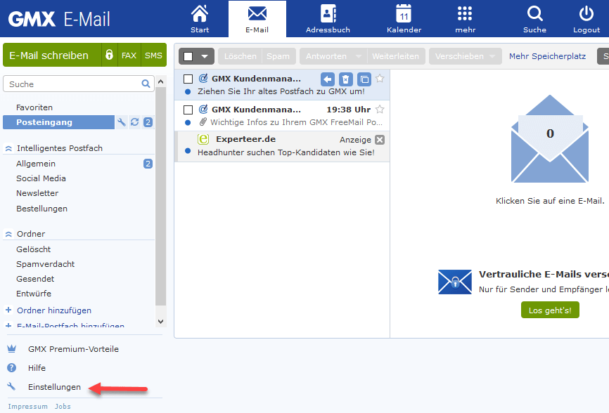Gmx Mail Blockieren