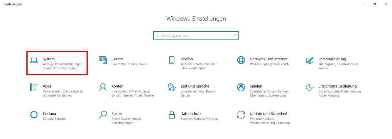 Windows 10 Helligkeit
