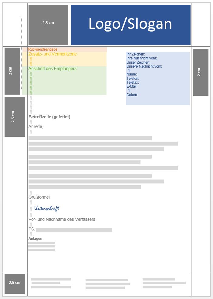 Geschäftsbrief Aufbau Inhalt Und Gestaltung 11 Ionos